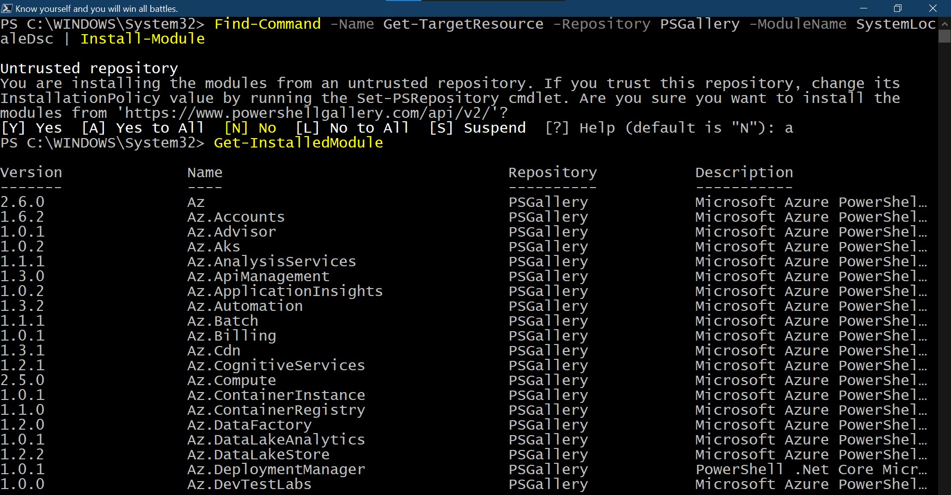 Find-Command powershell command
